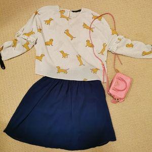 New Blue Skirt